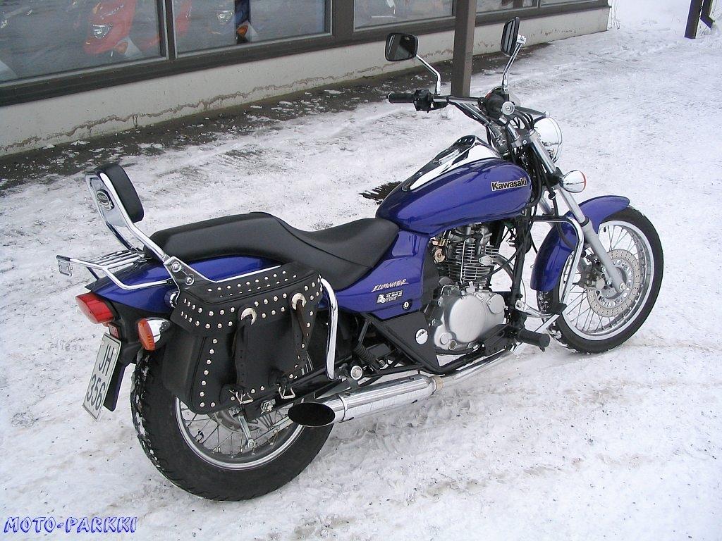 Kawasaki Eliminator 125 Seat Height