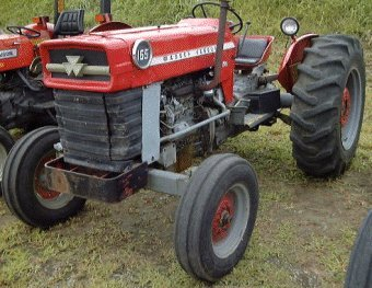 Mf on Massey Ferguson 65 Tractors G176 Engine